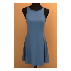 Old Navy Blue Dress Size Medium Petite